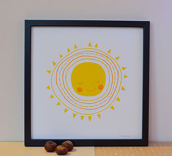 Hello Sunshine Screenprint