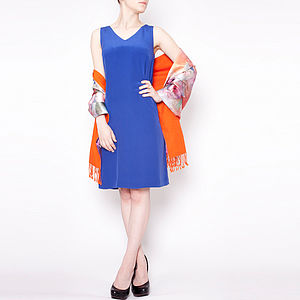 Crêpe De Chine Silk Shift Dress - view all sale items