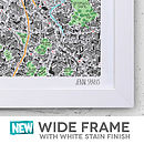 London Map Framing