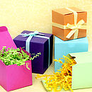 Colourful Favour Gift Box