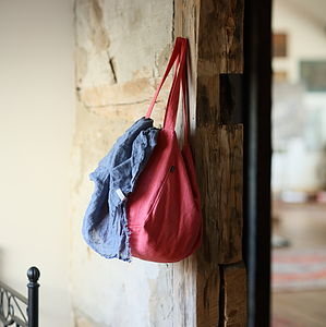 Linen Bag Lara - shoulder bags