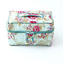 Vanity Washbag In Floral Print