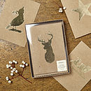 Gold Foil Christmas Card Collection