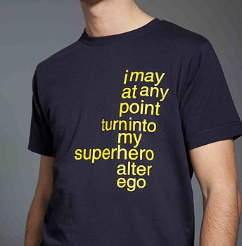 Superhero Teenage T Shirt