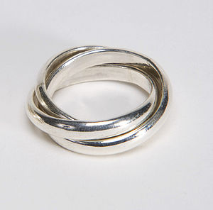 Silver Triple Ring - rings