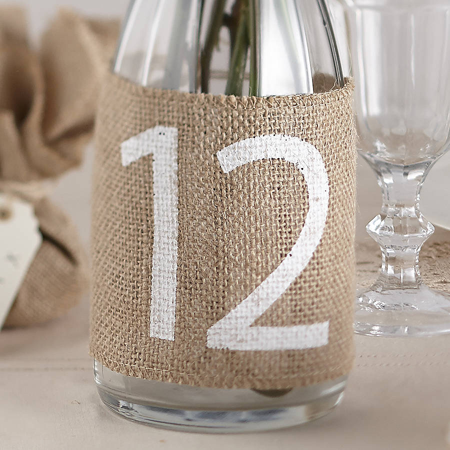 PreviousNext Vintage Table Numbers