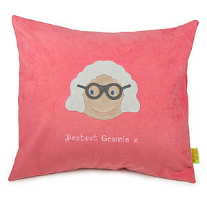 Personalised Grandmother Cushion