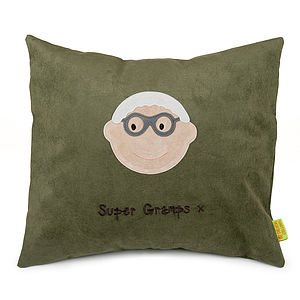 Personalised Grandfather Cushion