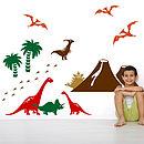 Dinosaur Wall Sticker Pack