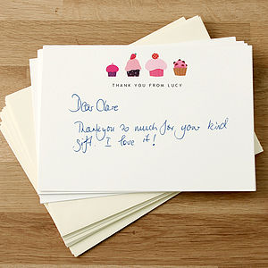 Personalised Thank You Cards - thank you cards