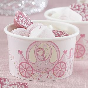 Princess Party Treat / Ice Cream Treat Tubs