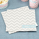 Chevron Party Paper Napkins