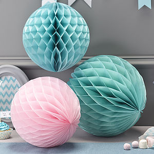 Honeycomb Balls Hanging Party Decorations - room decorations