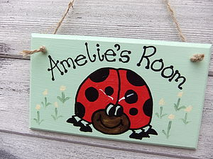 Ladybird Sign - art & decorations