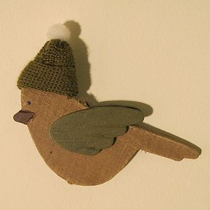 Robin Magnet - view all decorations
