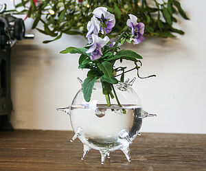 Glass Vase 'Spike'