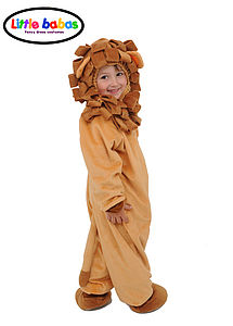 Halloween Children's Lion Onesie Costume