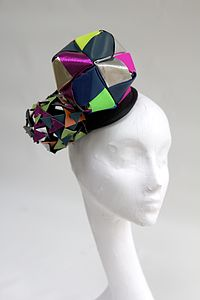 Origami Kalidescope Headpiece - hats, scarves & gloves