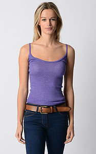 Plain Knit Camisole - tops & t-shirts
