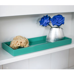 Lacquer Bathroom And Kitchen Tray - tableware