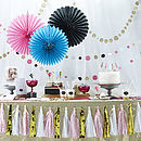 Confetti Party Hanging Dots Garland