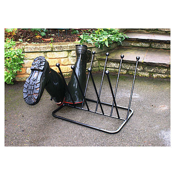 Five Pair Boot Rack