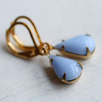 Cornflower Blue Earrings