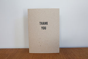 Personalised Tag Design Thank You Card - cards & invitations