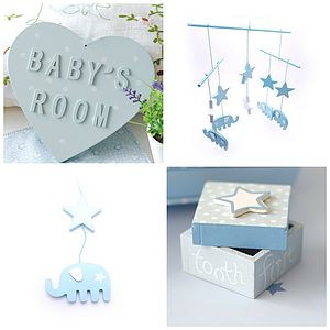 Baby Boy New Arrival Gift Box - children's room accessories