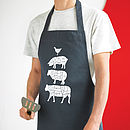 Long Butcher's Kitchen Apron Seconds