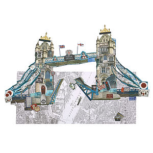 The Tower Bridge Artwork - architecture & buildings