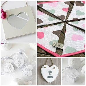 Mr And Mrs Wedding Gift Box - home accessories