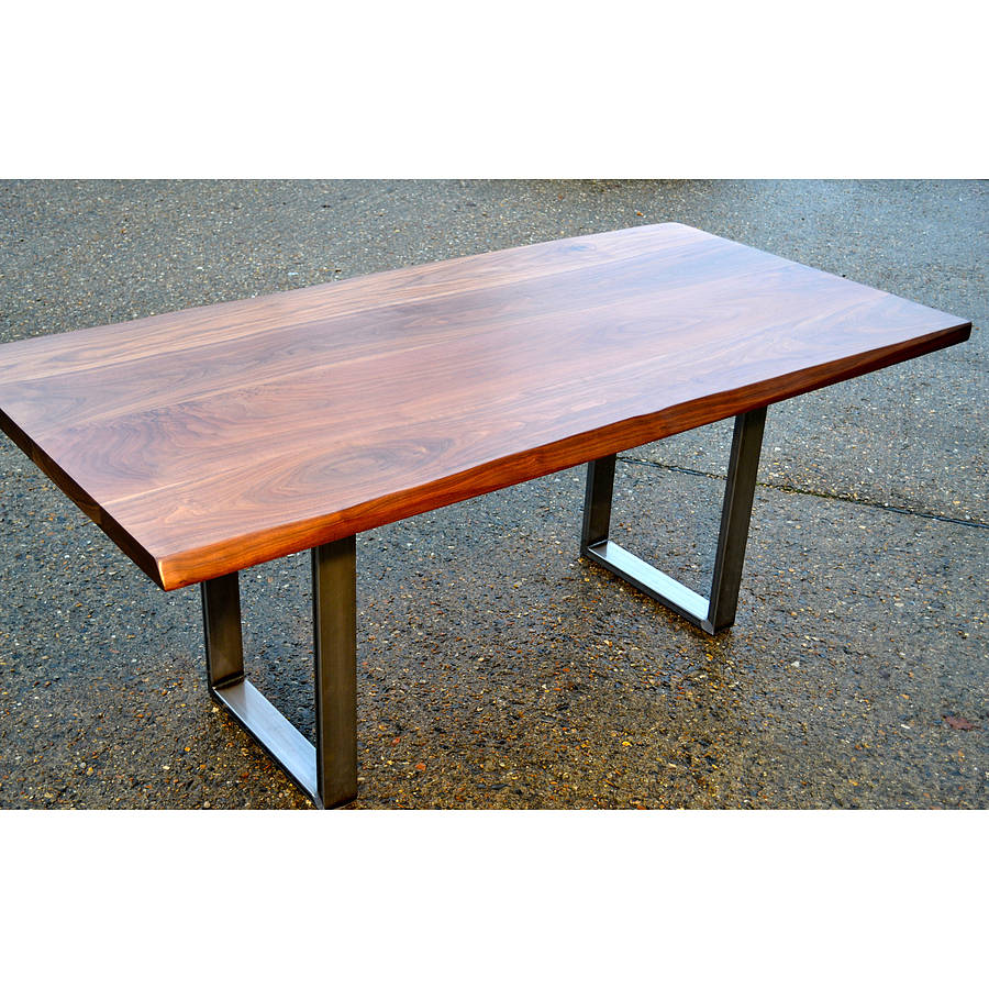 Industrial Dining Table By Wicked Boxcar