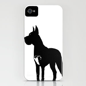 Great Dane Dog On iPhone Case