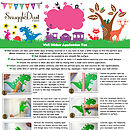 children's nursery wall decorations