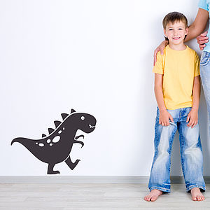 Friendly Dino Dinosaur Wall Sticker Decal - baby's room