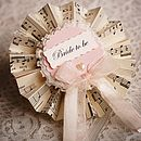 'Bride to Be' Rosette