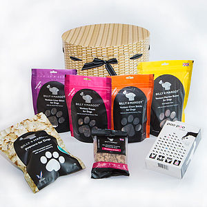 Luxury Gift Hamper For Dogs - dogs