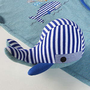 Whale Soft Toy - soft toys & dolls