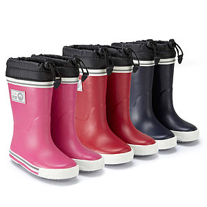 Fleece Lined Wellies - gifts for children