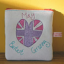 Personalised 'Bestest Grandma' Purse