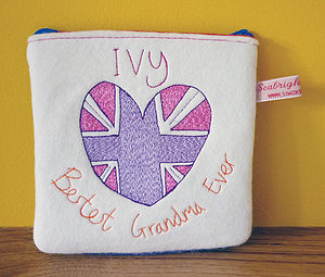 Personalised 'Bestest Grandma' Purse - gifts for grandparents