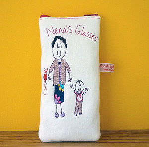 Personalised Granny's Glasses Case - glasses cases