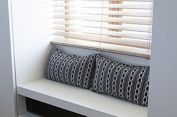 Cellular Upcycled Cushion