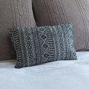 Diamond Lattice Upcycled Cushion