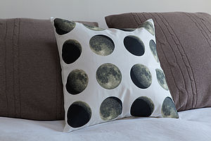 Lunar Moon Cycle Cushion - out of this world