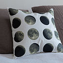 Organic Lunar Moon Cycle Cushion
