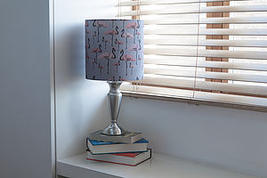 Flamingo Party Lampshade - children's lighting