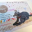 Personalised Pet Dog Print