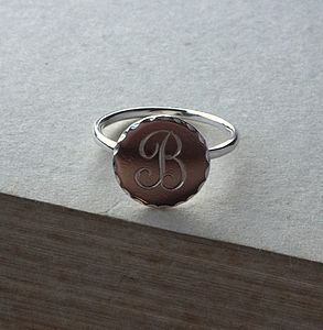 Engraved Ring - rings